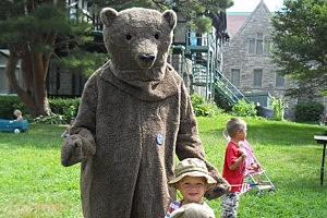 Teddy Bear With Kid