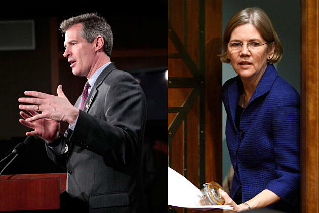Scott Brown/Elizabeth Warren