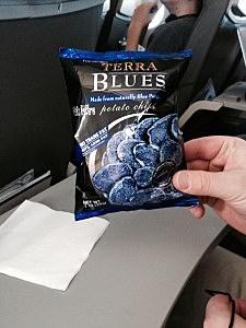 blue potato chips