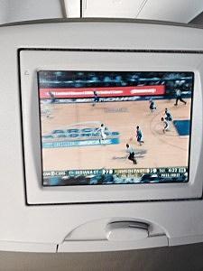 television in-flight