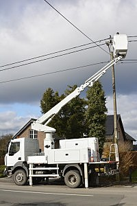 Fixing a power line