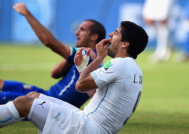 Luis Suarez at 2014 FIFA World Cup Brazil