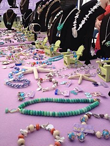 Jewelry at the Fairhaven Homecoming