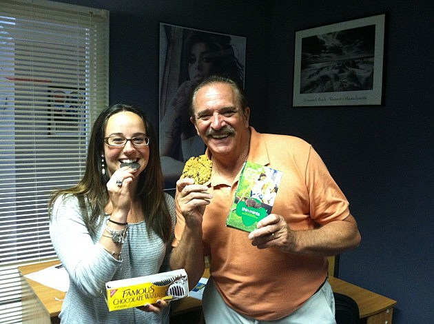 Phil and Kasey Eat Cookies