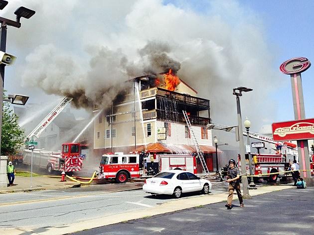 Lebanese Restaurant Fire