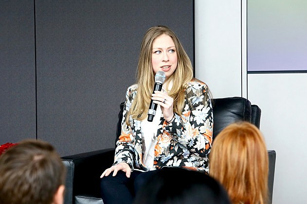 Chelsea Clinton at the Town and Country Inaugural Philanthropy Summit