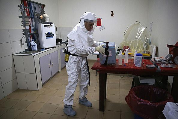 Ebola virus testing