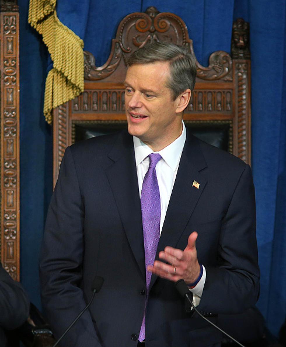 Charlie Baker SwornIn As Nd Governor Of Massachusetts - Governor of massachusetts