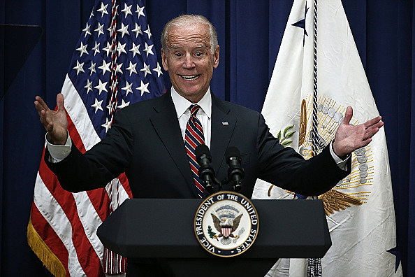 Joe Biden Addresses White Summit on Climate Change And Business