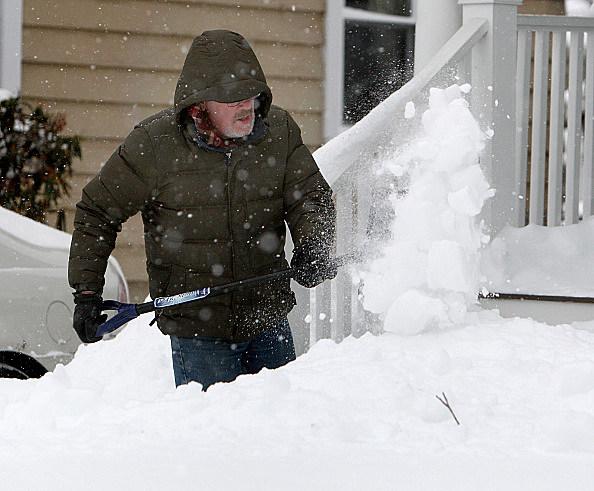 Blizzard Hits New England