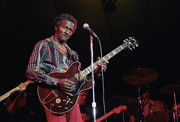 Chuck Berry Performs In Minnesota