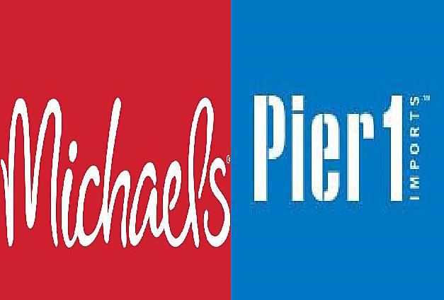 Michaels Stores & Pier 1 Imports via Facebook