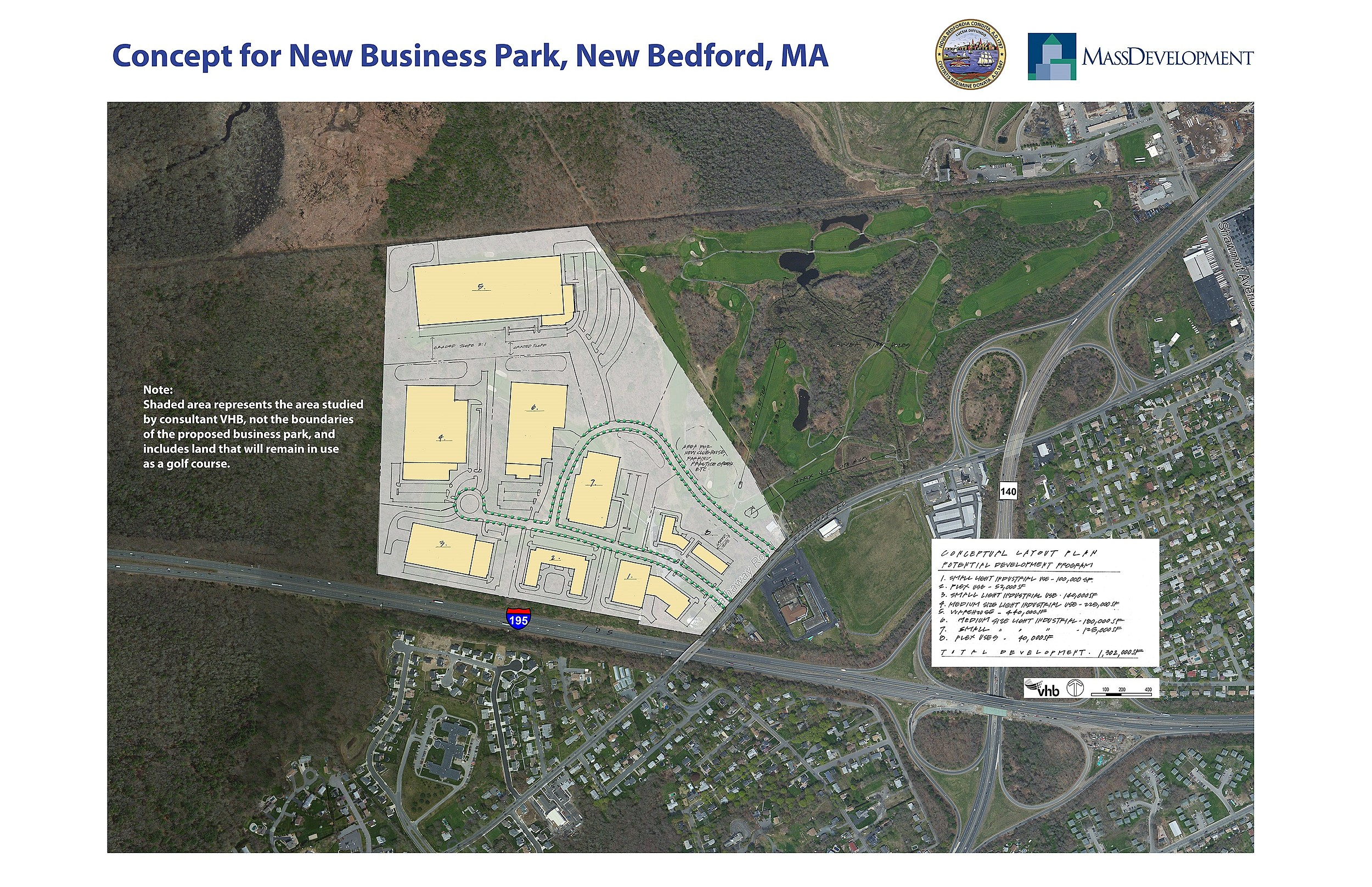 Concept for business park.|New Bedford Mayor's Office