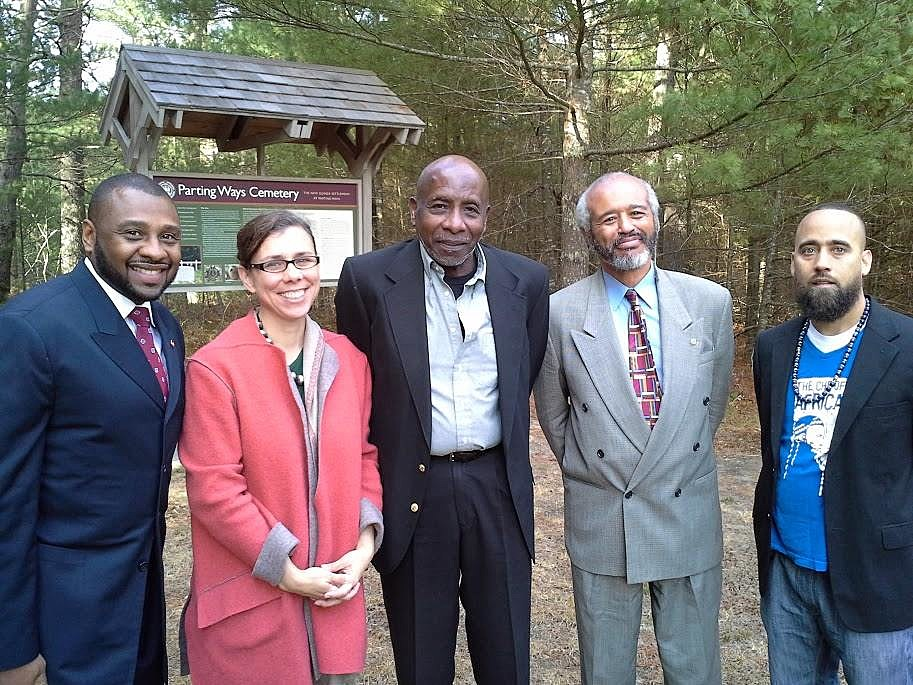 ohnson, center, was involved in a number of organizations, including serving as President of the Parting Ways Museum Corp. Eddie Johnson/Facebook