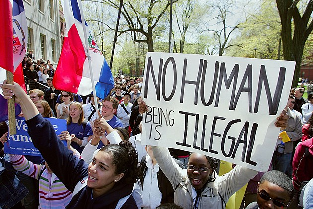 Immigrants Rally And Hold Boycotts Nationwide
