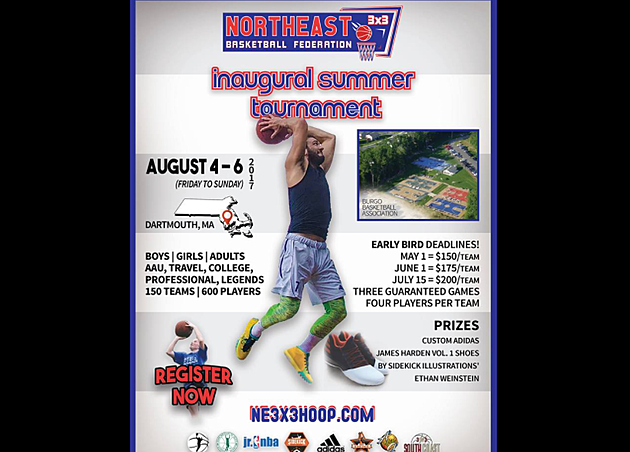 Northeast 3x3 Basketball Federation via Facebook