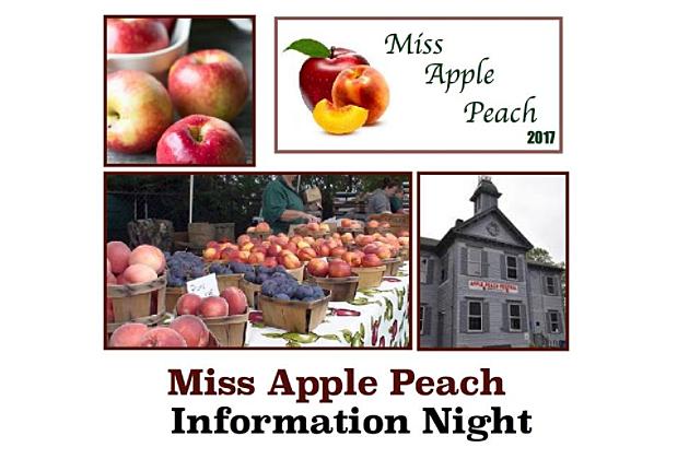Miss Apple Peach Pageant via Facebook