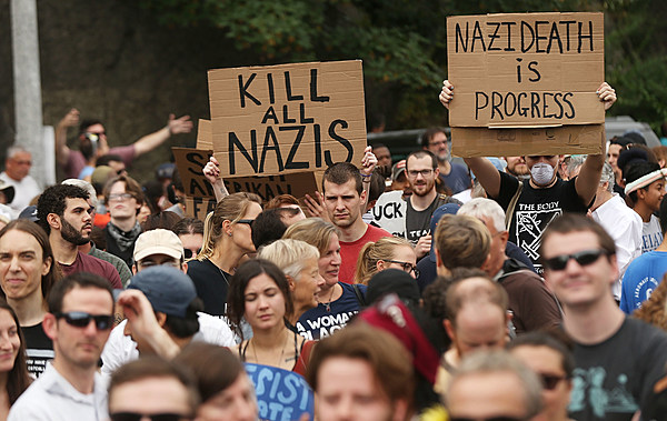 neo nazis and their first amendment rights The aclu defended white supremacists in charlottesville to protect the free expression rights of all americans.