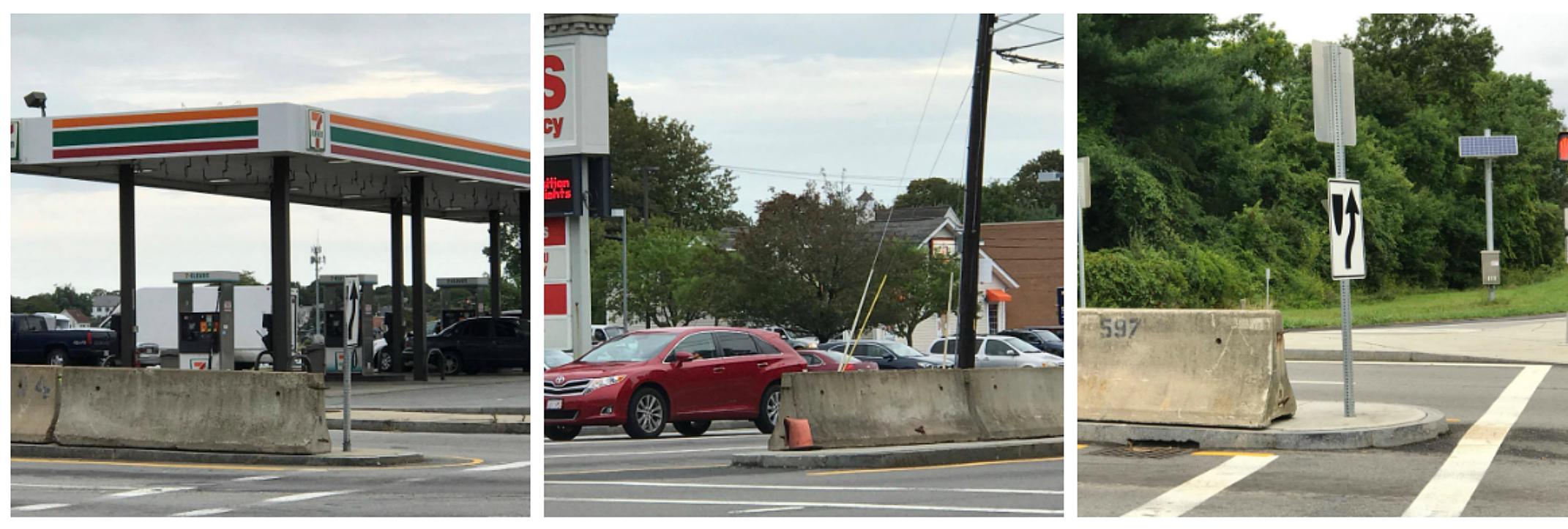 Jersey Barriers in New Bedford / TSM