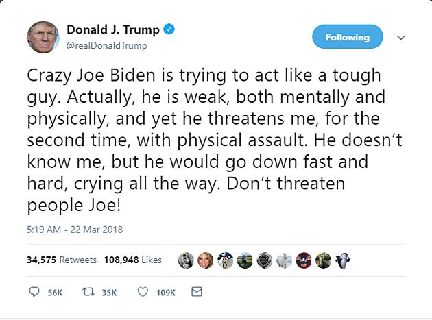 @realDonaldTrump/Twitter